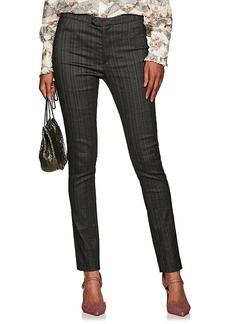 Isabel Marant Women's Kenton Pinstriped Trousers
