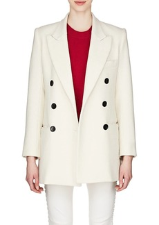 Isabel Marant Women's Kyne Cotton-Blend Double-Breasted Coat