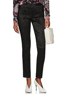 Isabel Marant Women's Lenton Textured Lamé Trousers
