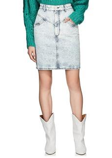 Isabel Marant Women's Lorina Denim Miniskirt