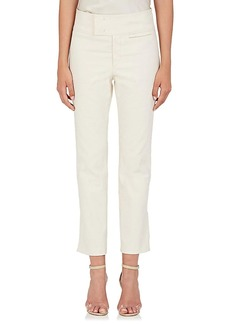 Isabel Marant Women's Ludlow Cotton-Blend Pants