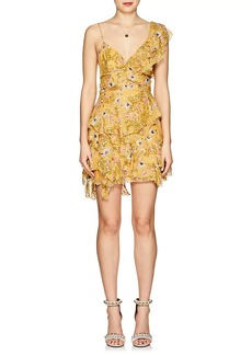 Isabel Marant Women's Manda Floral Silk-Blend Minidress