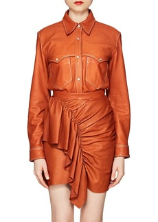 Isabel Marant Women's Nile Leather Blouse