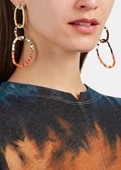 Isabel Marant Women's Oval Triple-Drop Earrings - Gold