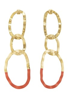 Isabel Marant Women's Oval Triple-Drop Earrings - Gold