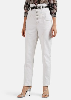 Isabel Marant Women's Rei High-Rise Jeans
