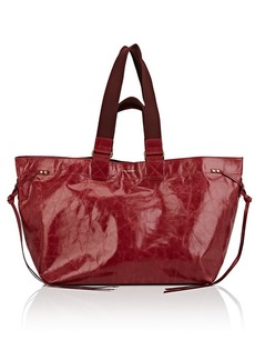 Isabel Marant Women's Wardy Leather Shopper Tote Bag