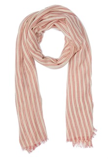 Isabel Marant Woody Stripe Wool Scarf