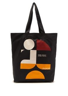 Isabel Marant Woom logo-print tote