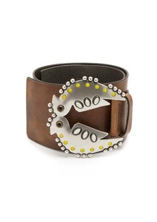 Isabel Marant Yona studded leather belt