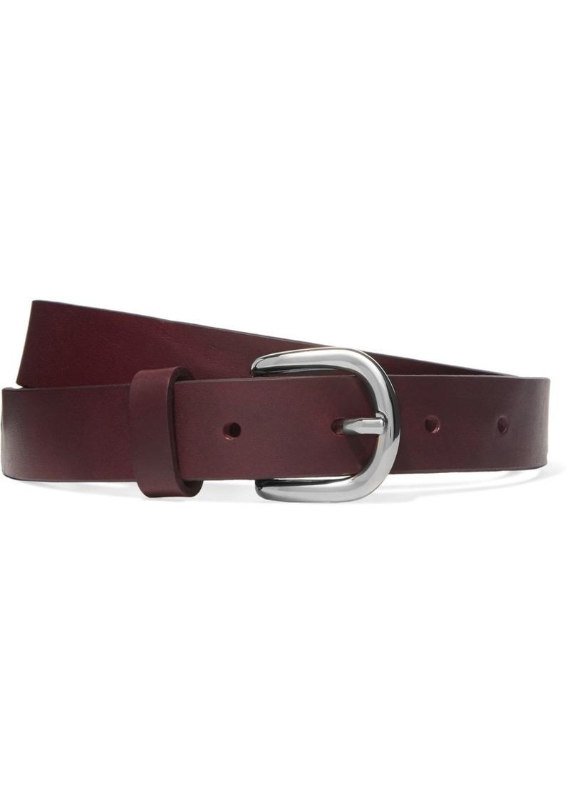 a3ca11bb95fe Isabel Marant Zap leather waist belt