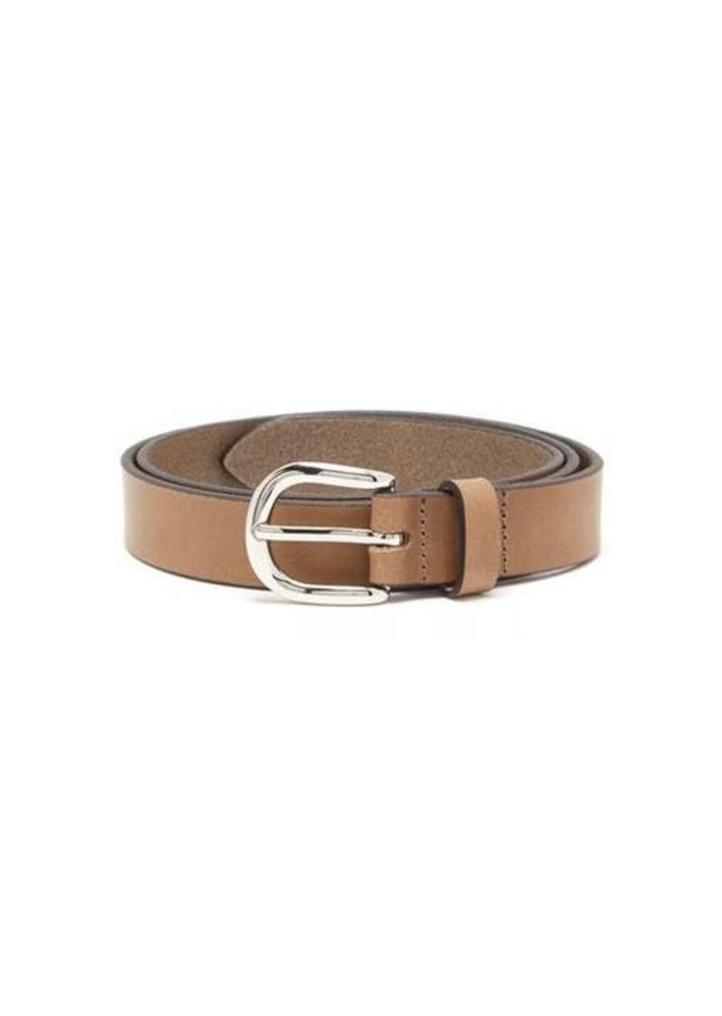 Isabel Marant Zap skinny leather belt