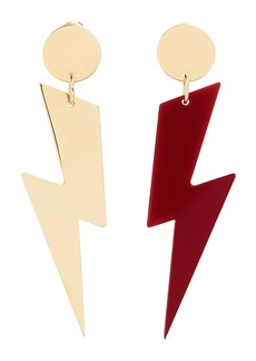 Isabel Marant Ziggy Mismatch Drop Earrings