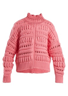Isabel Marant Zoe chunky-knit cotton-blend sweater