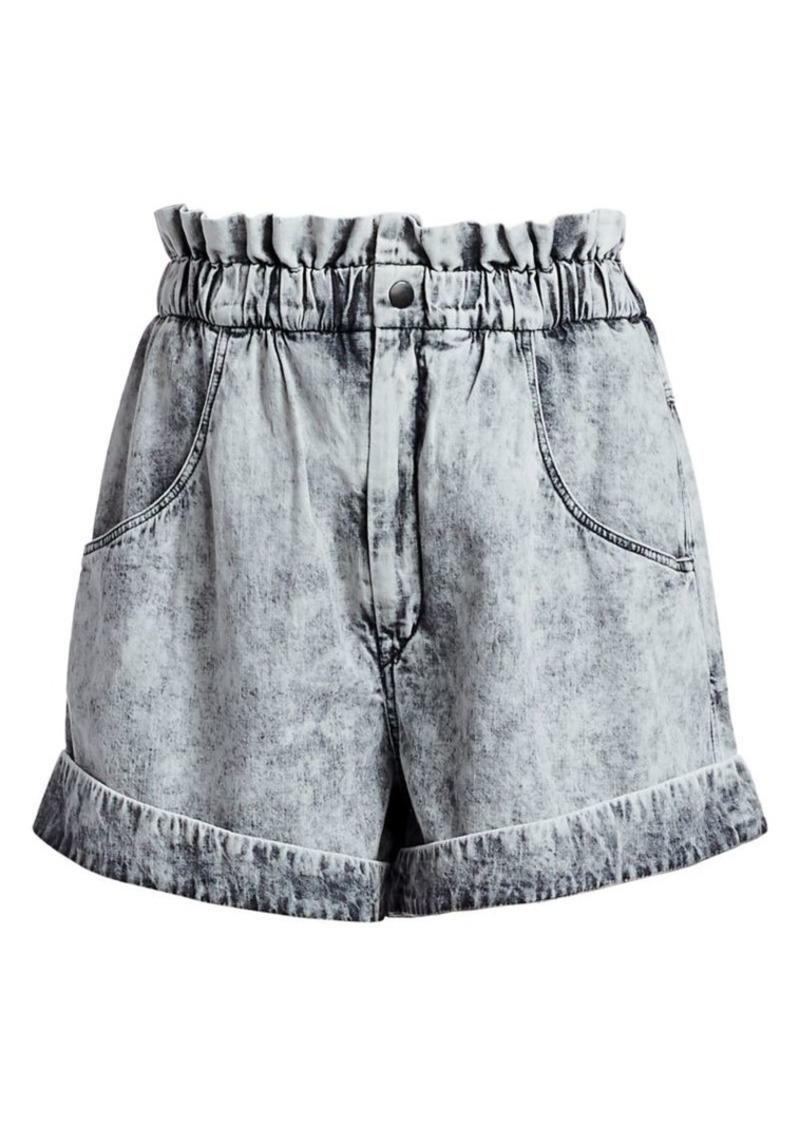 Isabel Marant Itea Soft Denim Shorts