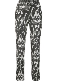 Isabel Marant Jamie printed stretch trousers