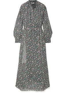 Isabel Marant Joly Printed Georgette Maxi Dress