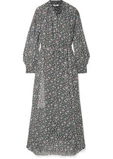 Isabel Marant Joly Printed Georgette Maxi Dress