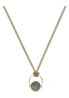 Isabel Marant Julius Long Rotating Chain Necklace