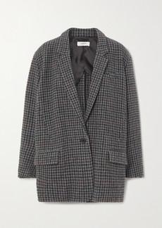 Isabel Marant Kaito Houndstooth Wool-tweed Blazer