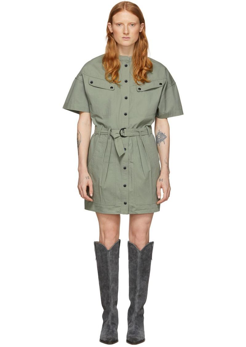 Isabel Marant Khaki Zolina Dress