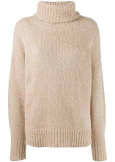 Isabel Marant knitted roll neck jumper