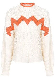 Isabel Marant knitted wave sweater