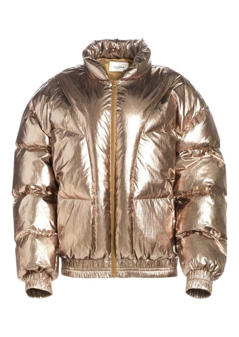 Isabel Marant Kristen Metallic Puffer Jacket