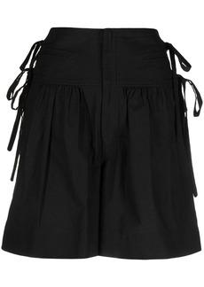 Isabel Marant lace-detail cotton shorts