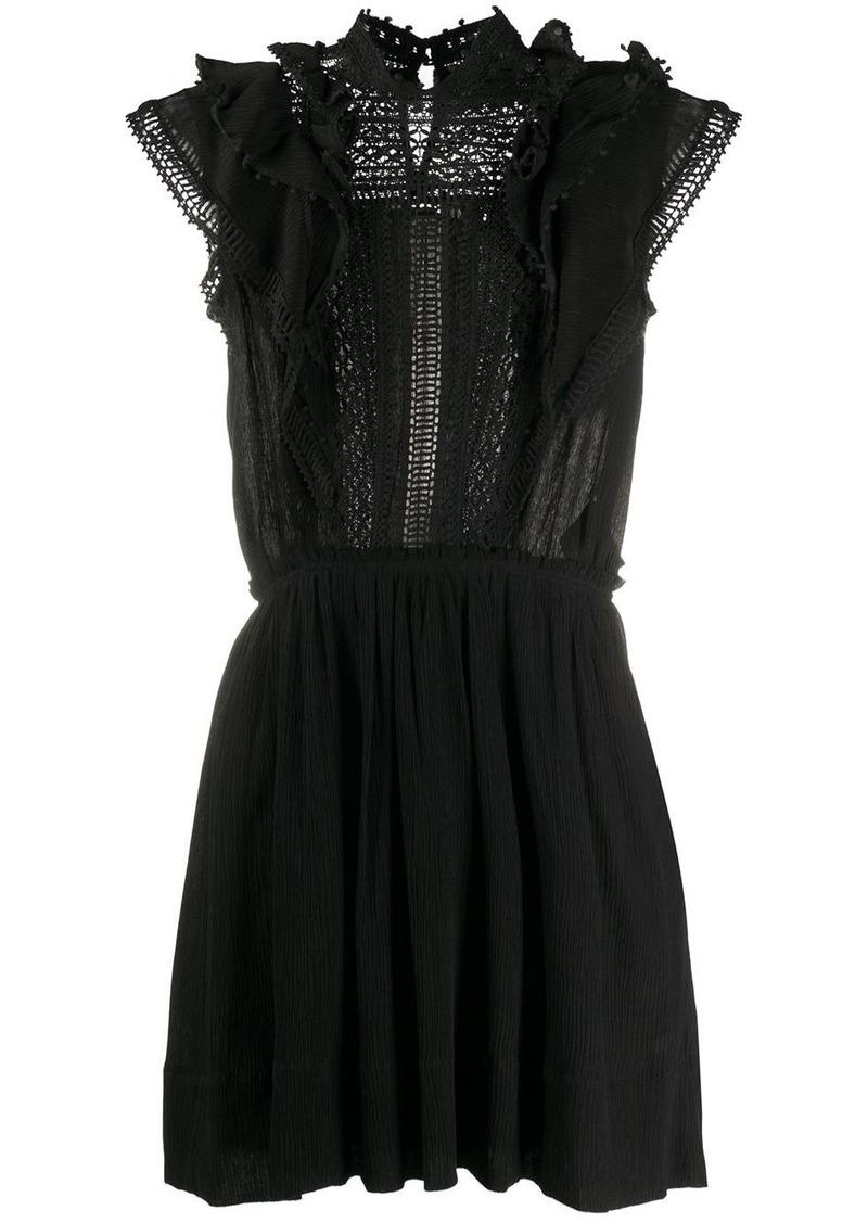 Isabel Marant lace-detail mini dress