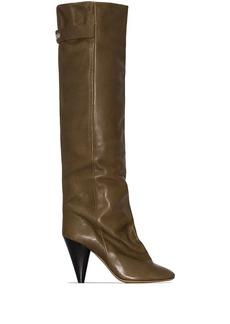 Isabel Marant Lacine 90mm knee-high boots