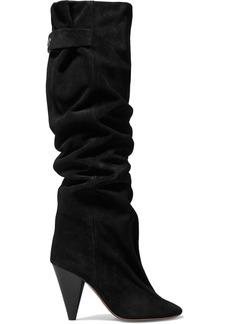 Isabel Marant Lacine Suede Knee Boots