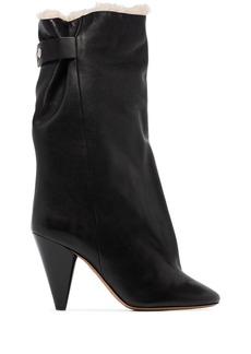 Isabel Marant Lakfee ankle boots