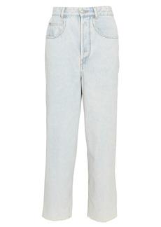 Isabel Marant Laliskasr Cropped Straight-Leg Jean