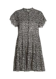 Isabel Marant Lanikaye Floral A-Line Shirtdress