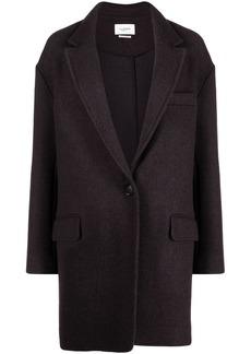 Isabel Marant Latty buttoned-up coat