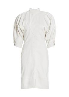 Isabel Marant Laure Puff-Sleeve Dress