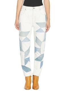 Isabel Marant Lea Graphic Print Jeans