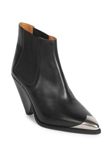 Isabel Marant Lemsey Metal Toe Booties