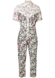 Isabel Marant Lindsie printed jumpsuit
