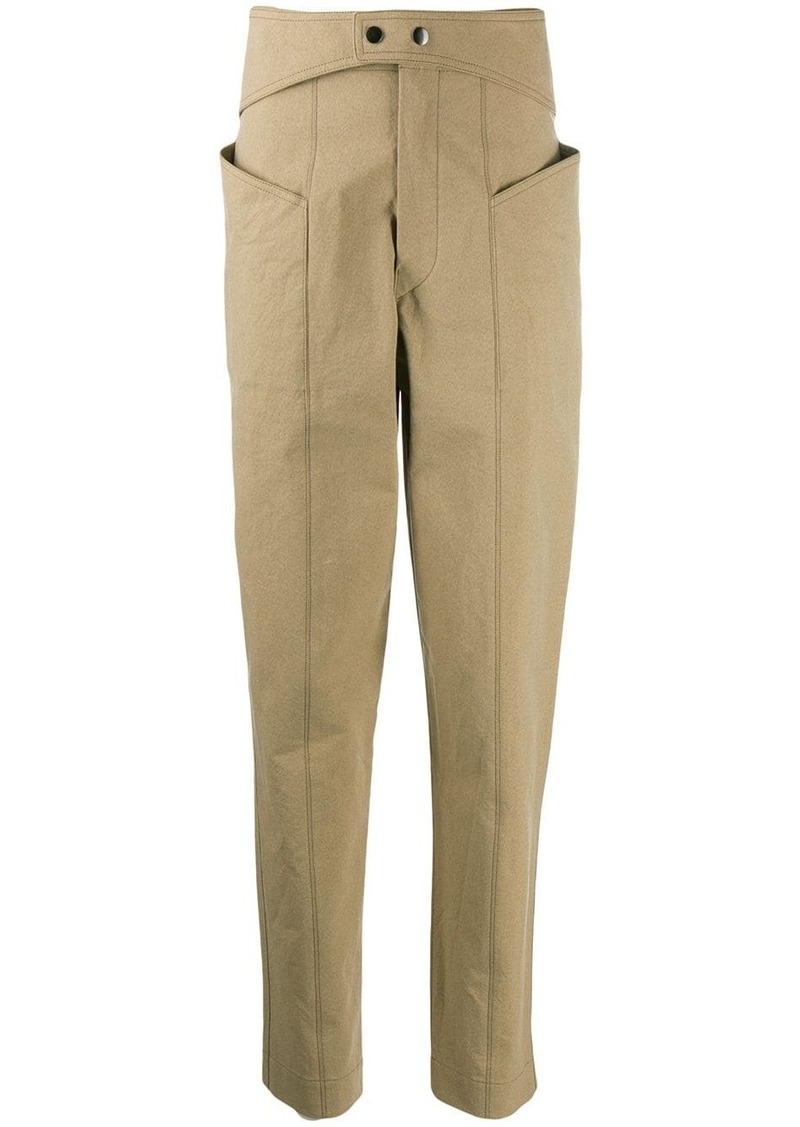 Isabel Marant Lixy high-waisted trousers