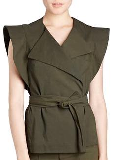 Isabel Marant Logan Belted Wrap Vest