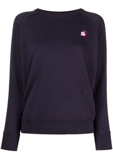 Isabel Marant logo embroidered sweatshirt