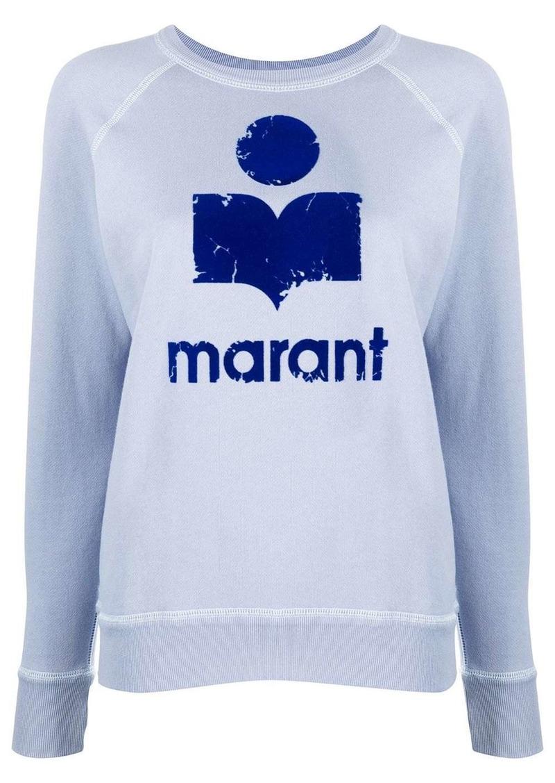 Isabel Marant logo print jumper