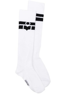 Isabel Marant logo stripe socks