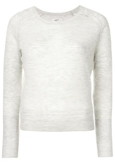 Isabel Marant long sleeved melange knit top