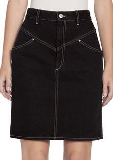 Isabel Marant Lorine Denim Pencil Skirt