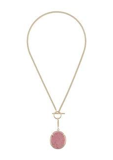Isabel Marant low hanging pendant necklace