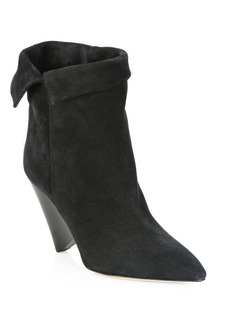 Isabel Marant Luliana Foldover Suede Booties
