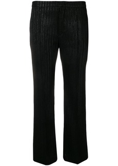 Isabel Marant lurex striped trousers